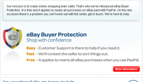 eBay Shop With Confidence