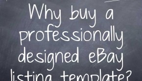 Why buy a professionally designed eBay listing template Part 2