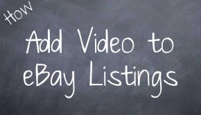 How to add video to eBay listings