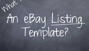 What is An eBay Listing Template