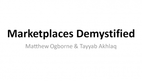 Marketplaces Demystified